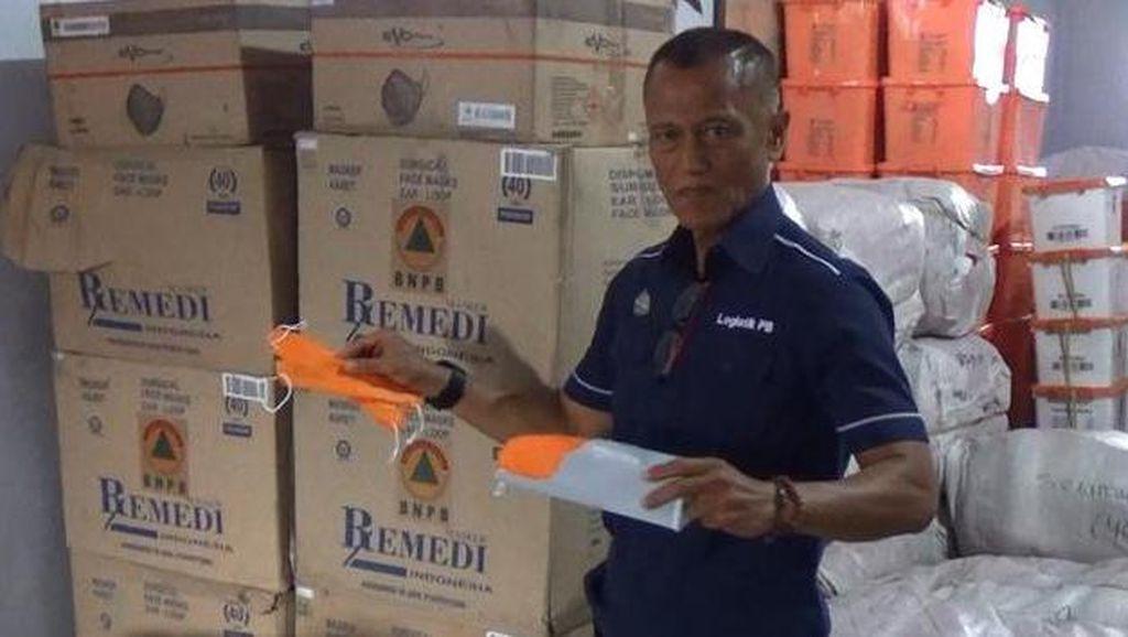 BPBD akan Bagi-bagi Masker Antisipasi Hujan Abu Gunung Semeru