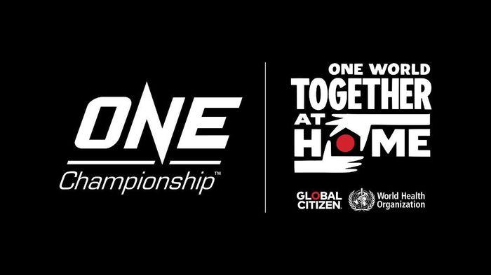 Gagal menghelat pertarungan, ONE Championship tetap punya cara untuk ikut memerangi penyebaran virus corona. Bermitra dengan Global Citizen dan WHO, ONE mengadakan festival musik global bertajuk ONE World: Together At Home.