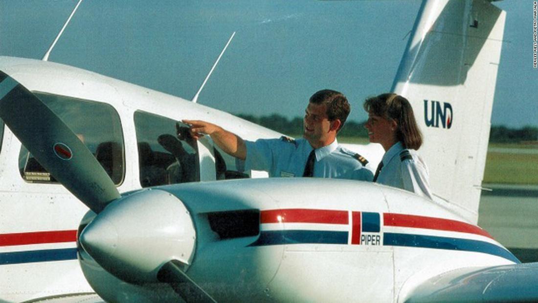 Pilot Merilee Riely
