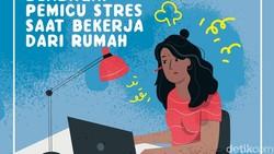 Kerja dari rumah atau Work from Home (WFH) seharusnya lebih nyaman karena lebih leluasa. Faktanya banyak yang malah merasa stres. Lho kok bisa?