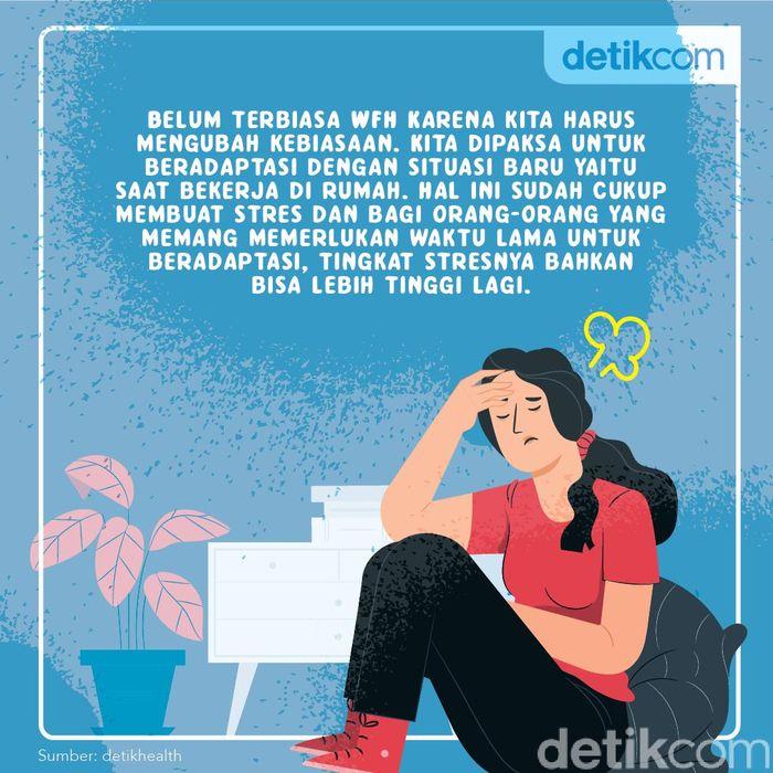 pemicu stres saat kerja dari rumah
