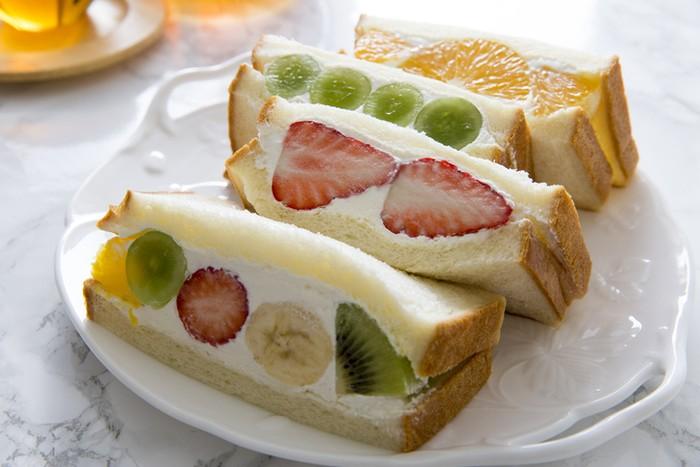 Sandwich Buah ala Jepang