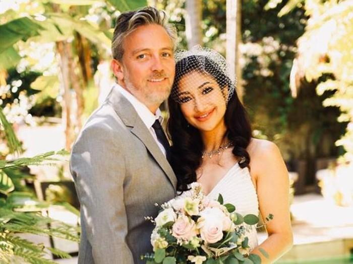 Rahma Azhari menikah