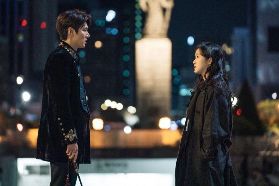 Pertemuan Lee Gon dan Jung Tae Eul di The King: Eternal Monarch episode 1