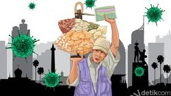 Lagi, Jokowi Kasih Bantuan Modal ke Pedagang