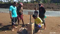 ESDM Cek Gelembung Gas Misterius di Sungai Magelang, Apa Hasilnya?