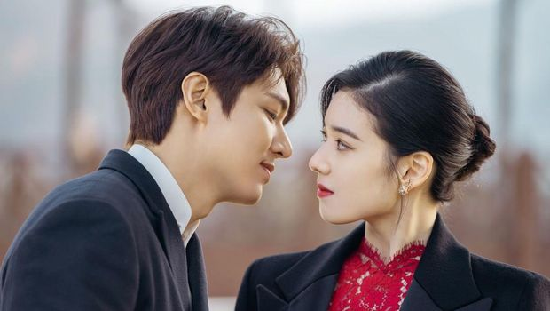 Jung Eun Chae dan Lee Min Ho di The King: Eternal Monarch