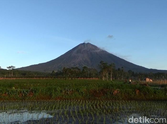 Jumat (17/4), Gunung Semeru meluncurkan guguran awan panas sejauh 2 km. Namun saat ini, aktivitas vulkanik gunung tersebut mengalami penurunan.