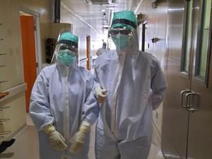 Cerita Suka Duka Perawat di Bogor yang Setiap Hari Merawat Pasien Corona