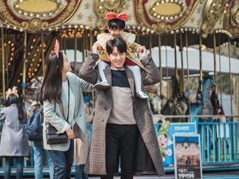 Aksi Kim Tae-hee di episode 16 Hi Bye, Mama!