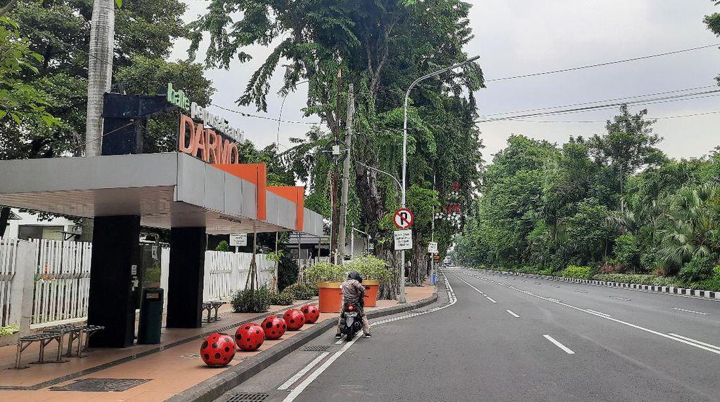 Kawasan Physical Distancing Surabaya, Jalan Darmo dan Tunjungan Akan Ditutup