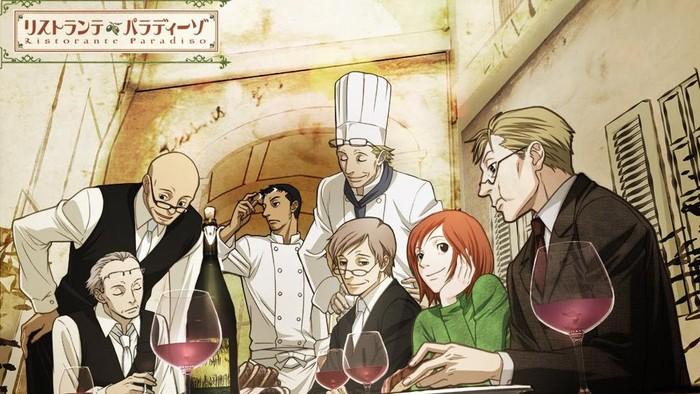penuh makanan enak 5 anime seru dari jepang ini bikin laper