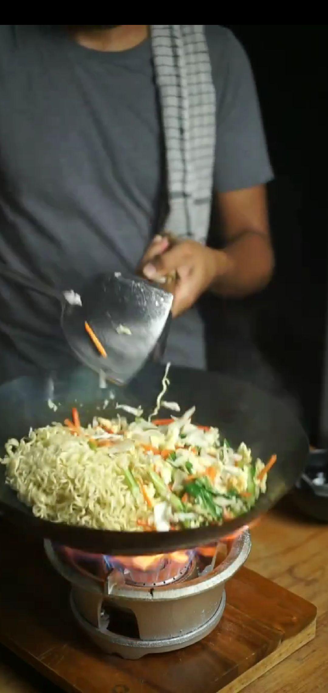 dandan ala tukang nasi goreng