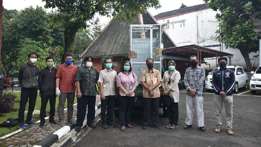 ITB Ciptakan Bilik Sterilisasi Agar Masker Bisa Dipakai Ulang