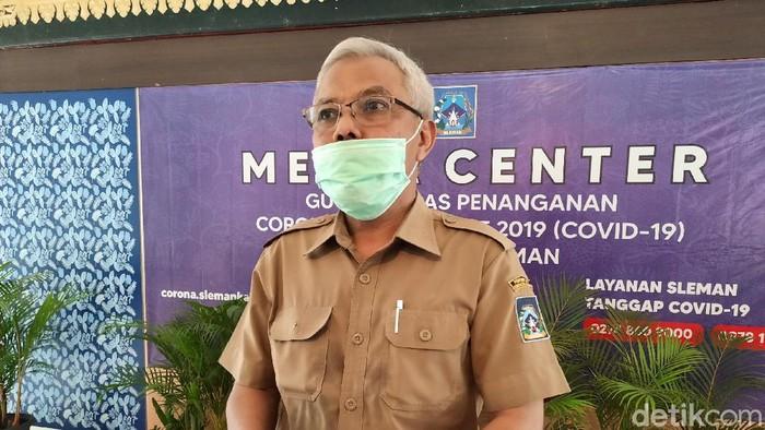 Plt Kepala Dinas Pendidikan Sleman Arif Haryono