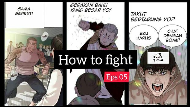 Webtoon 'How to Fight' Karya Taejoon Park