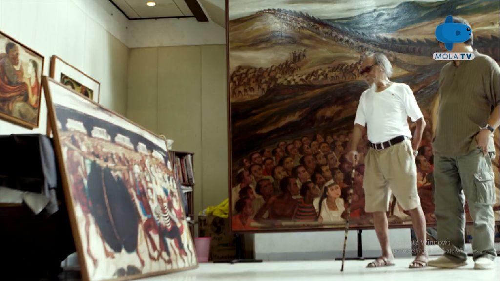 Cerita di Balik Lukisan Berburu Celeng Rp 1 Miliar Djoko Pekik