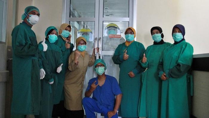 Tenaga medis di RSUD Gambiran Kota Kediri
