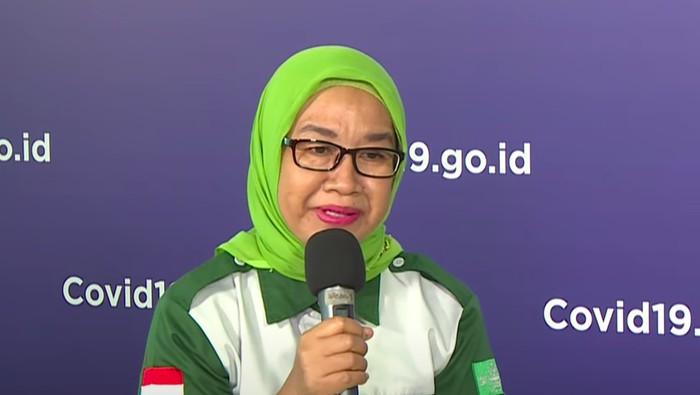 Sekretaris Lembaga Penanggulangan Bencana Dan Perubahan Iklim Nahdlatul Ulama (LPBI NU) Yayah Ruchyati.