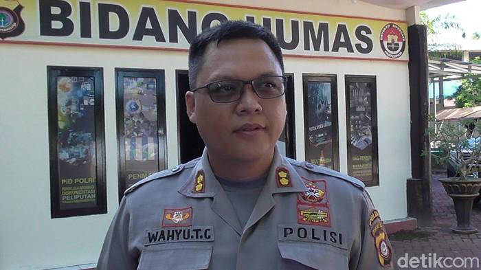 Kabid Humas Polda Gorontalo AKBP Wahyu Tri Cahyono (Ajis Khalid/detikcom)