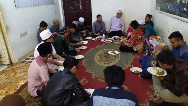 Mahasiswa asal Aceh di Sudan.