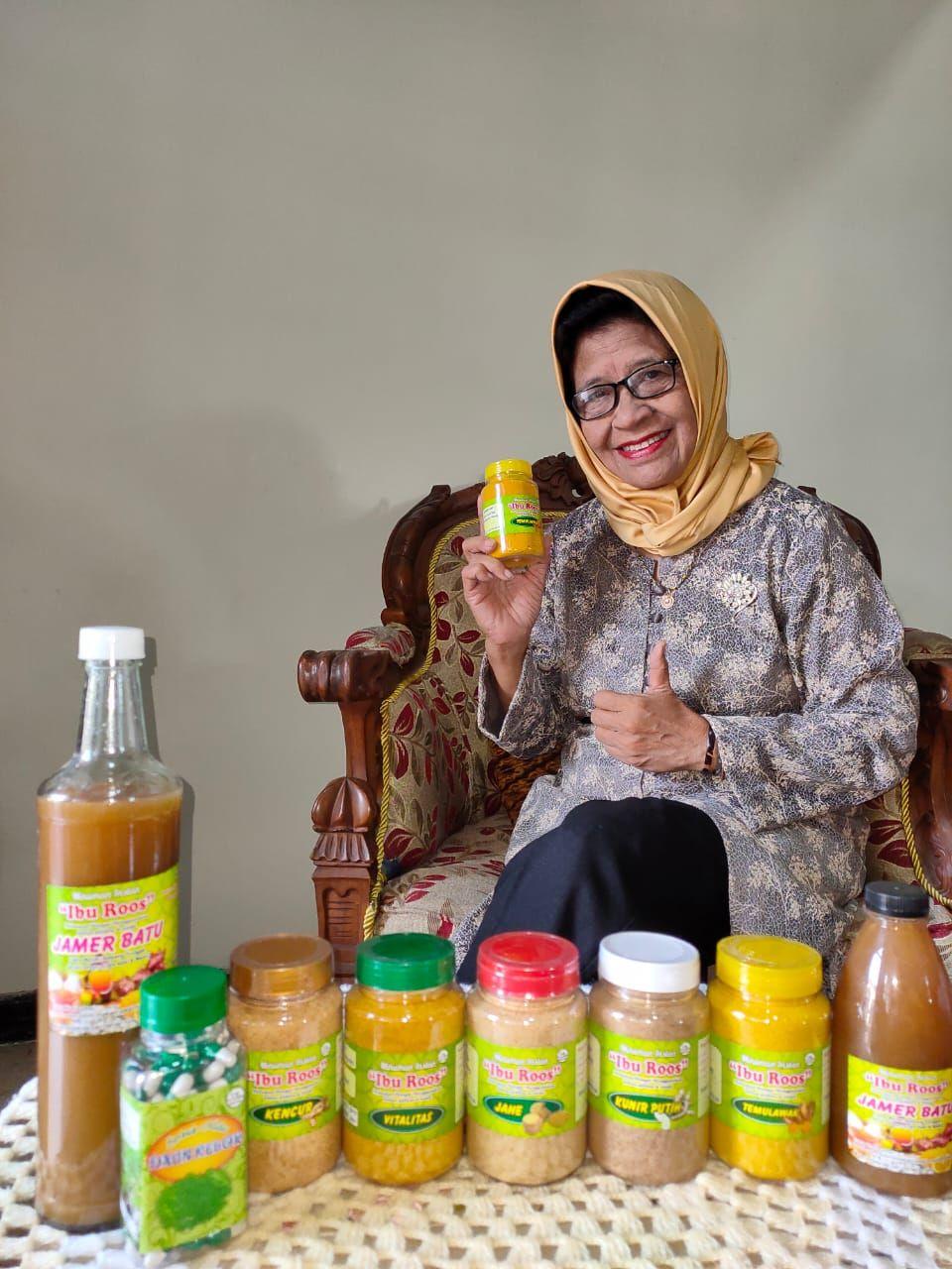 Cerita Roos Nurningsih, Menginspirasi Millenial Lewat Jamu