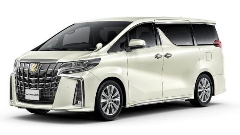 Toyota Alphard dan Vellfire edisi khusus