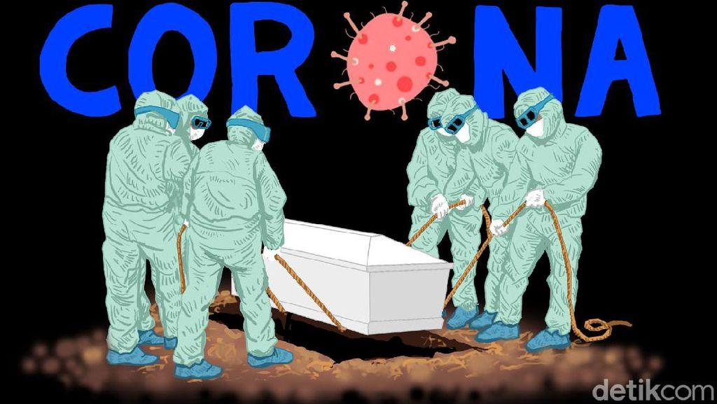 DKI Terbanyak, Ini Sebaran 4.823 Kasus Baru Corona 25 September