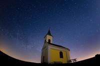 Begini penampakan indahnya langit Austria saat fenomena hujan meteor Lyrids.