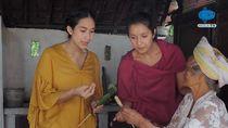 Happy Salma Belajar Filosofi Enaknya Sate Ceroncong Bali
