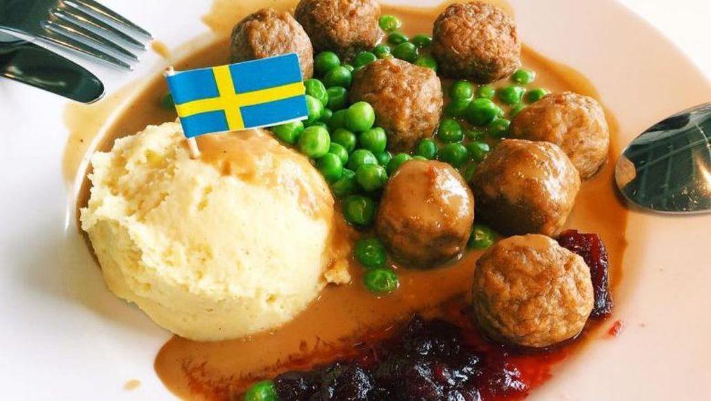 Ini Resep Swedish Meatballs IKEA yang Ikonik dan Autentik