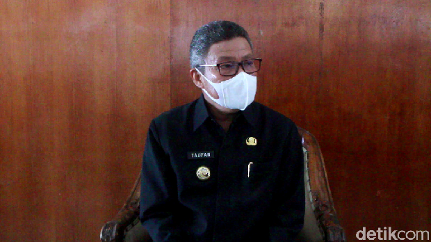 Wali Kota Parepare Taufan Pawe (Hasrul Nawir/detikcom)