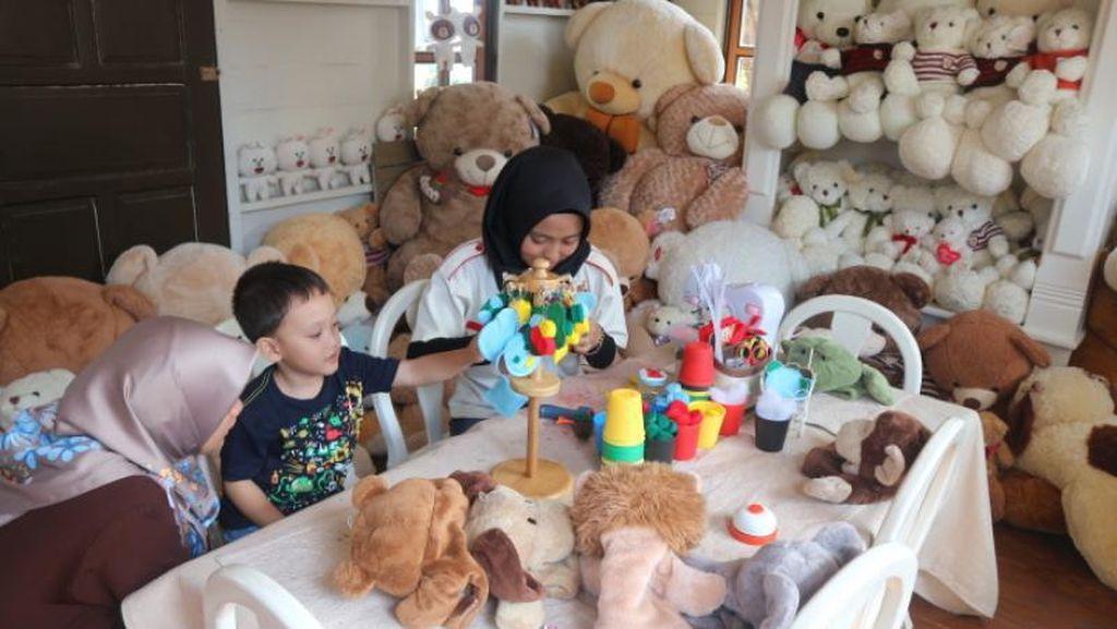 Tempat Ramah Anak di Floating Market Lembang