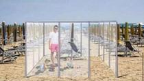 Foto: Seperti Ini Berjemur di Pantai Setelah Corona Reda