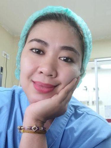 Anitha perawat pasien COVID-19.