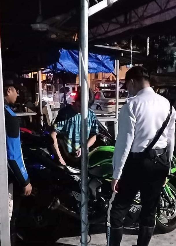 Pengendara Ninja ZX-6R yang ugal-ugalan diciduk polisi