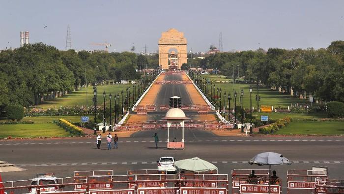 India melakukan lockdown akibat mewabahnya virus Corona. Ada berkah tersendiri akibat kebijakan ini, yaitu udara di India menjadi lebih bersih.