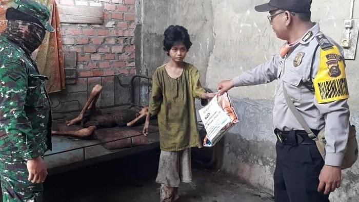 2 warga kurus kering kelaparan di Sumsel (dok. Istimewa)
