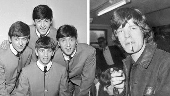 The Bearles Vs The Rolling Stones