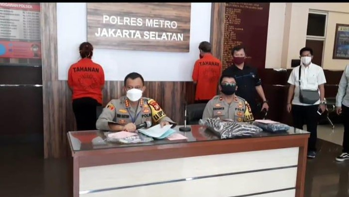 Polres Jaksel tangkap penyebar video yang merekayasa begal di Cilandak