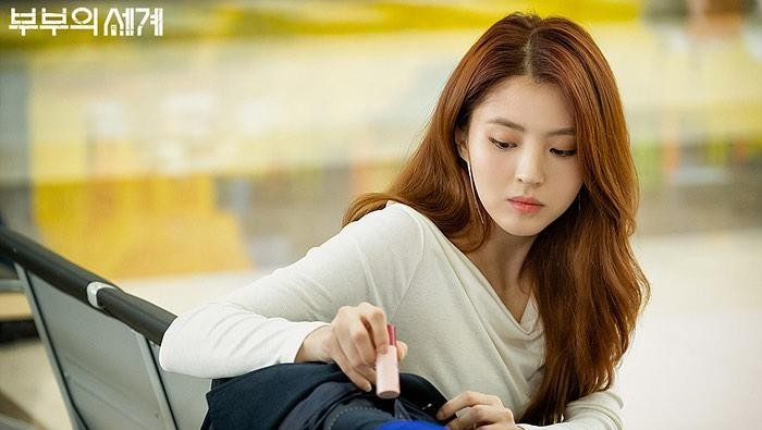 Lip balm cherry yang dipakai Han So Hee di The World of The Married