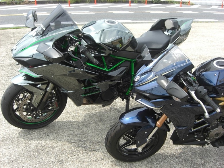 Modifikasi Kawasaki Z125 Pro
