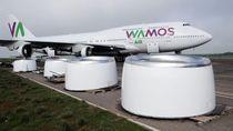 Ini Bandara Berpenghuni Pesawat Terlantar