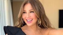 Penampilan Thalia Pillow Challenge Sambil Joget Lagu Latin Jadi Sorotan