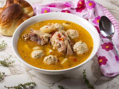Sup Bola Ayam Pedas