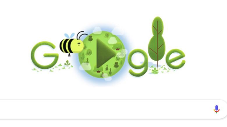 google doodle hari bumi