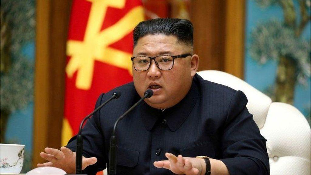 Kim Jong-Un Tolak Bantuan Internasional Terkait Corona dan Banjir