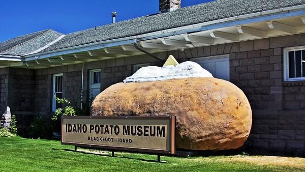 Terakhir ada Idaho Potato Museum atau Museum Kentang Goreng Idaho di AS. Seperti Frietmuseum, museum yang satu ini juga membahas tentangan panganan kentang. Bedanya, ini di Amerika (visitidaho.org)