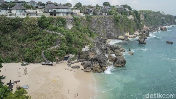 Begini lansekap Pantai Kubu di kawasan Nusa Dua, Bali.