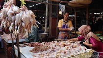 Daging dan Telur Ayam Bikin Inflasi Juni 0,18%